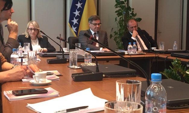 Sastanak sa Predsjedavajućim Vijeća ministara Bosne i Hercegovine