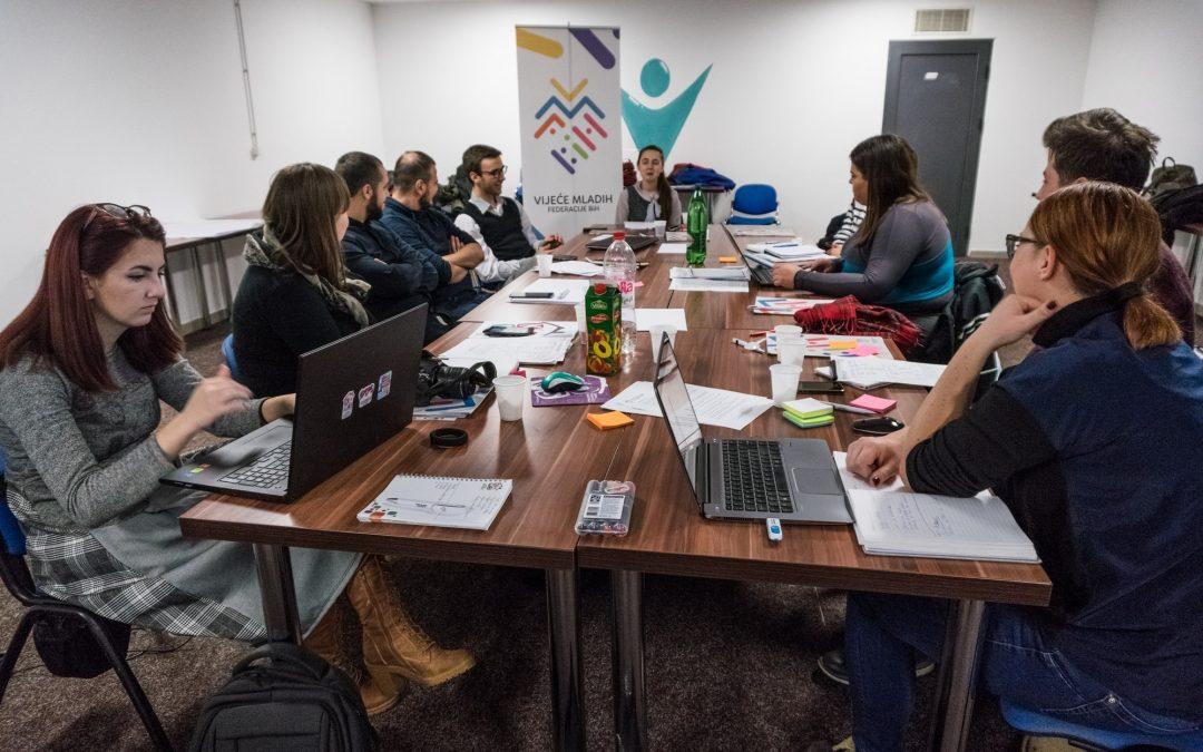 Krovne organizacije mladih iz Jugoistočne Evrope u Sarajevu