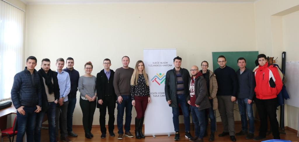 Vijeće mladih Tuzlanskog kantona bogatije za novu članicu