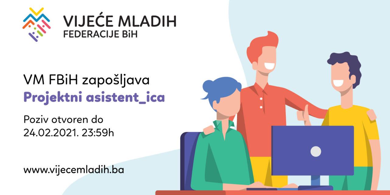Javni poziv za radno mjesto u Vijeću mladih FBIH